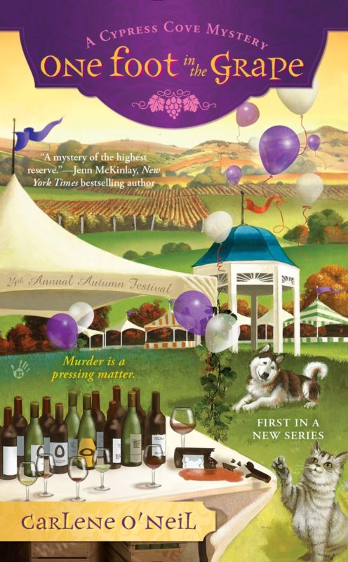 One Foot in the Grape (A Cypress Cove Mystery)